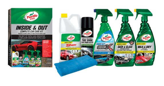 Turtle Wax Inside & Out Complete Car Care Kit