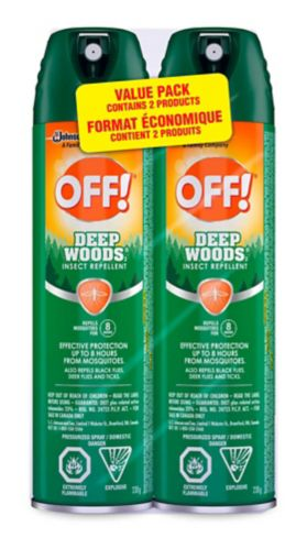 OFF!Deep Woods Insect Repellant Value Pack