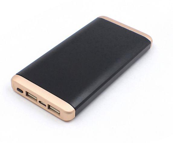 Chargeur portatif AutoTrends, 10 000 mAh, noir/or Image de l'article