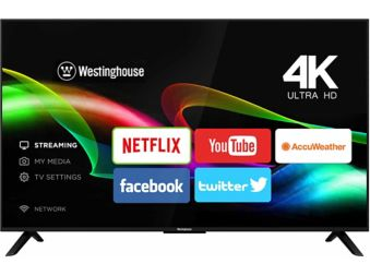 Westinghouse 4K Smart TV, 55-in