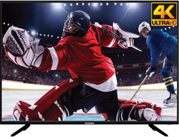 Sylvania 4K Ultra HD TV, 55-in