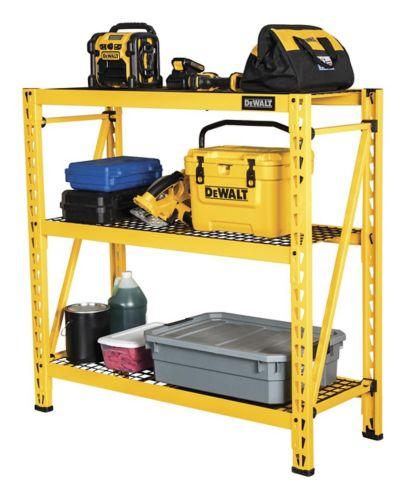 DEWALT Industrial 3-Shelf Wire Rack, 48-in