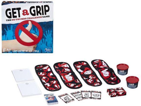 Hasbro Get a Grip Game, English