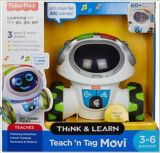 Fisher Price Teach 'n Tag Movi Robot, English | Fisher Pricenull