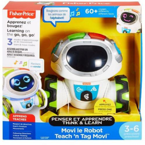 Fisher-Price Teach 'n Tag Movi, French