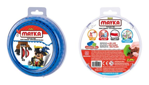 Mayka Toy Construction Tape, Small, 2-stud Product image