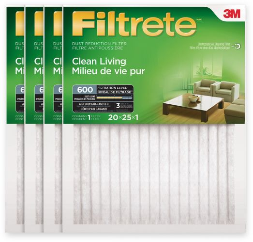 Filtrete Dust and Pollen Furnace Filter, 4-pk Product image