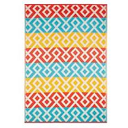 CANVAS Wasaga Plastic Weave Outdoor Rug, 6-ft x 8-ft