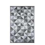 CANVAS Manitou Plastic Weave Outdoor Rug, 6-ft x 8-ft