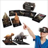 Jeu mobile réalité augmentée, dinosaures