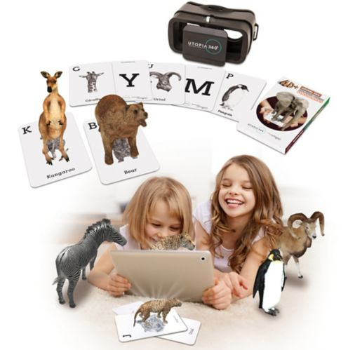 Augmented Reality Mobile Gaming, Zoo Edition