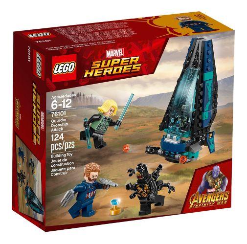LEGO Marvel Super HeroesOutrider Dropship Attack, 124-pcs Product image