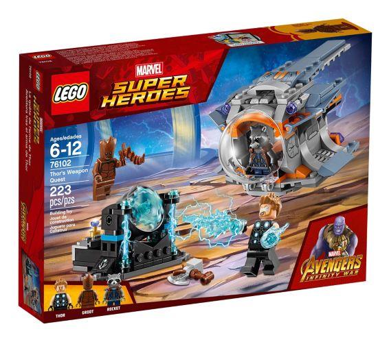 LEGO Marvel Super Heroes, Quête de l'arme de Thor, 223 pces Image de l'article