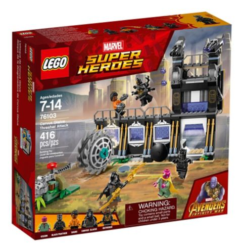 LEGO Marvel Super Heroes Corvus Glaive Thresher Attack, 416-pcs Product image