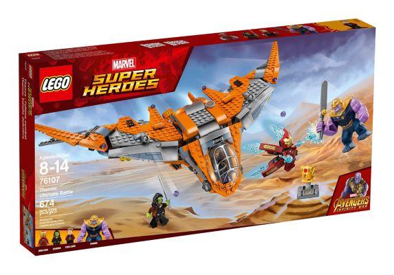 LEGO Marvel Avengers Thanos: Bataille suprême Image de l'article