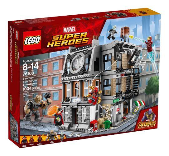 LEGO Marvel Super Heroes, La confrontation dans le Saint des Saints, 1004 pces Image de l'article