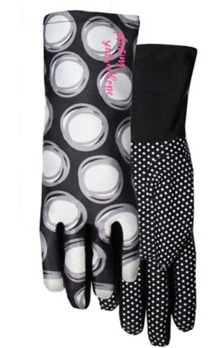 Midwest Hope Knit Dot Gloves, Black Product image