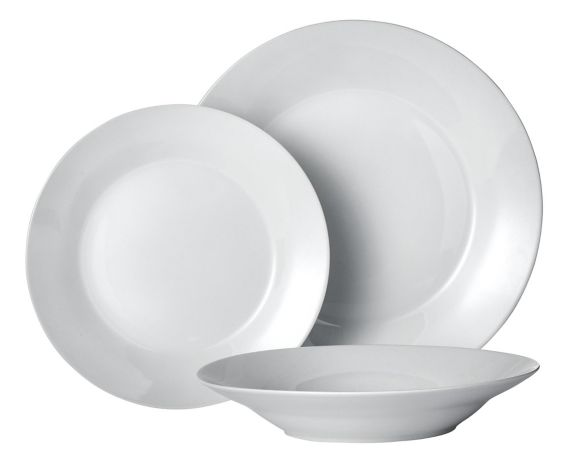 Porcelain Dinnerware Set, 12-pc