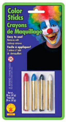 Crayons de maquillage en couleur pour l'Halloween