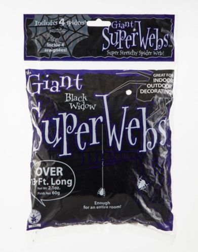 Giant Spider Webs, Assorted