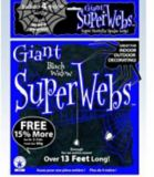 Giant Spider Webs, Assorted | Rubie's Costume Conull