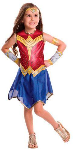 Costume d'Halloween pour enfants, Justice League Wonder Woman Image de l'article