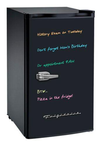 Réfrigérateur RCA de 3,2 pi³ Réfrigérateur avec ardoise blanche
