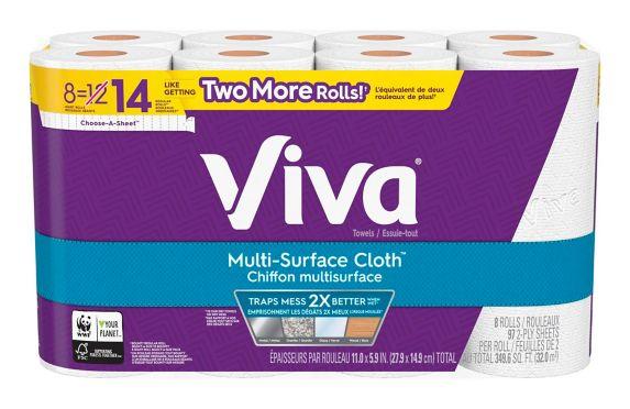Viva Paper Towels, 8-Rolls