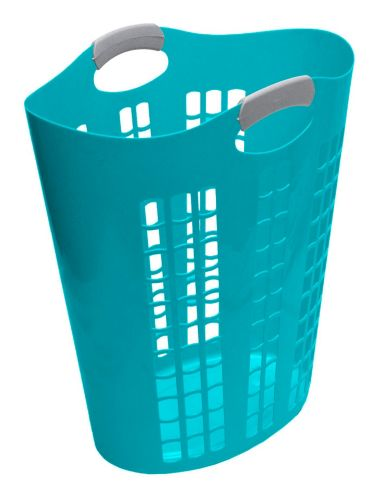 Gracious Living Easy Carry Hamper, Teal Product image