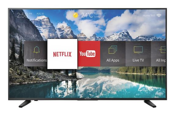 Sharp 4K Ultra HD Smart TV, 55-in Product image