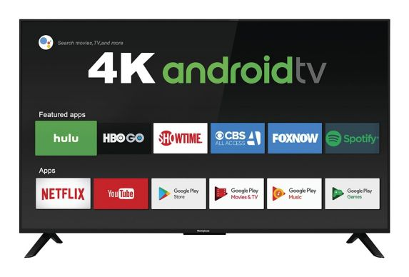 Westinghouse 4K UHD SmartAndroid TV, 50-in Product image