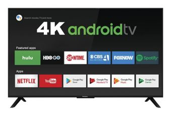 Westinghouse 4K UHD Smart Android TV, 55-in