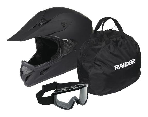 Ensemble casque de motocross Raider MX Image de l'article