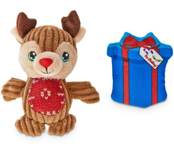 Holiday Plush Moose Dog Toy, X-Large, 18-in Product image