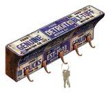 Porte-clés à motif de plaques d'immatriculation Ford | Fordnull