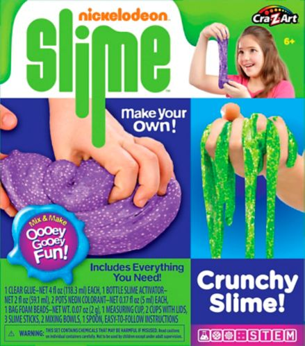 Cra-Z-Art Nickelodeon Crunchy Slime Kit Product image