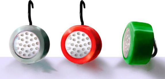 Lumières rondes à 24DEL