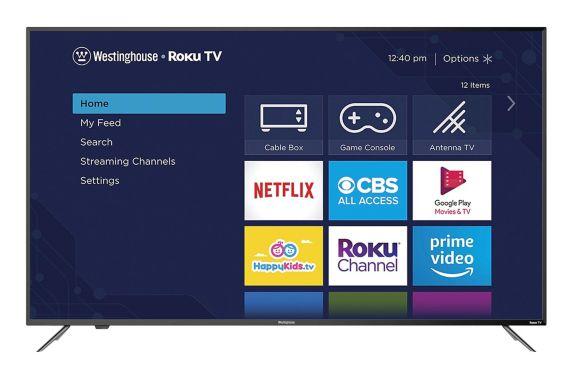 Westinghouse 4K UHD Roku Smart LED TV, 65-in Product image