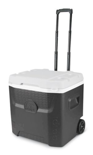 Igloo Quantum 52 Roller Wheeled Cooler, 52-qt