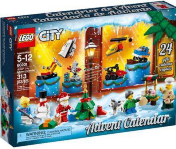 Le calendrier de l'Avent LEGO City