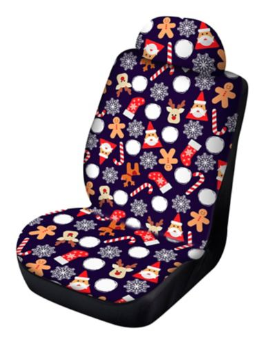 Reversible Holiday Seat Cover Product image