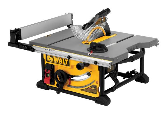 DEWALT 15A Jobsite Table Saw with Stand, 10-in