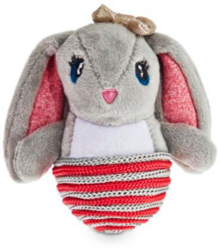 Petco Holiday Tails Plush Bunny Cat Toy, 6-in Product image
