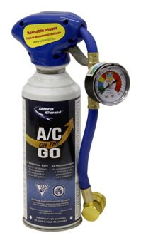 Ultra Cool R12A A/C On The Go Automotive Refrigerant, 255-g