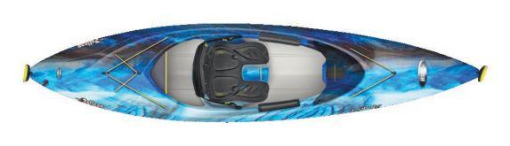 Kayak fermé Pelican 106XP, impulsion électrique Image de l'article