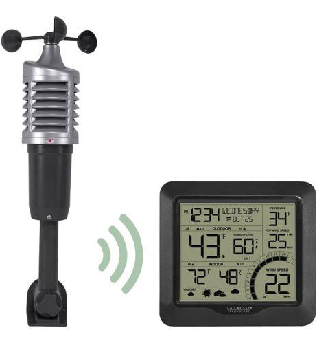 Station météo et anémomètre numérique sans fil La Crosse Image de l'article