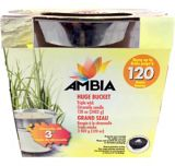 Extra Large Galvanized Citronella Bucket with Rope Handles | AMBIAnull