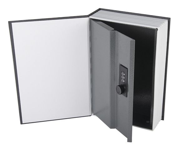 Combination Book Safe