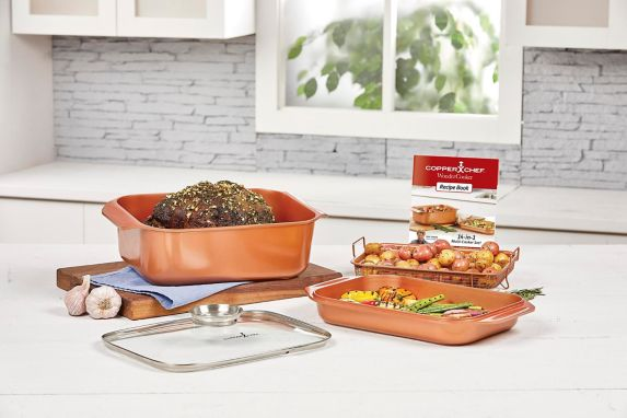 As Seen On TV Copper Chef Wonder Cooker XL Set, 5-pc Product image