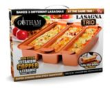 As Seen On TV Gotham Ti-Cerama™ Lasagna Pan   Gotham Steelnull